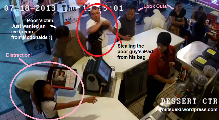 ampang guys Watch as a group of pickpockets work together to steal this poor guy's ipad at  ampang point shopping centre, malaysia when he was buying.