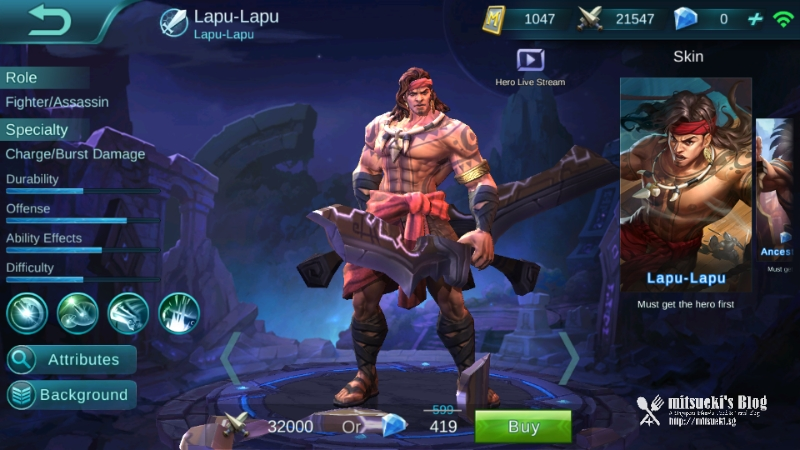NEW HERO] Lapu-Lapu + Ancestral Skin - Mobile Legends Bang Bang