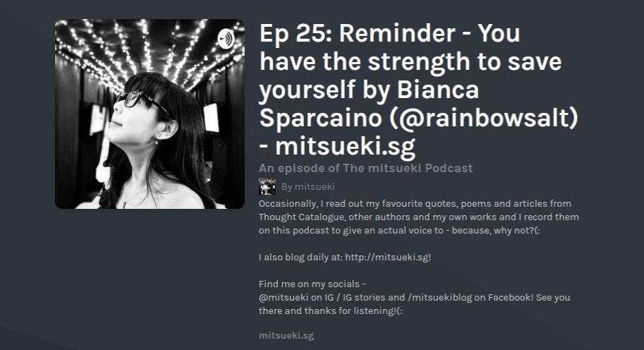 the mitsueki podcast