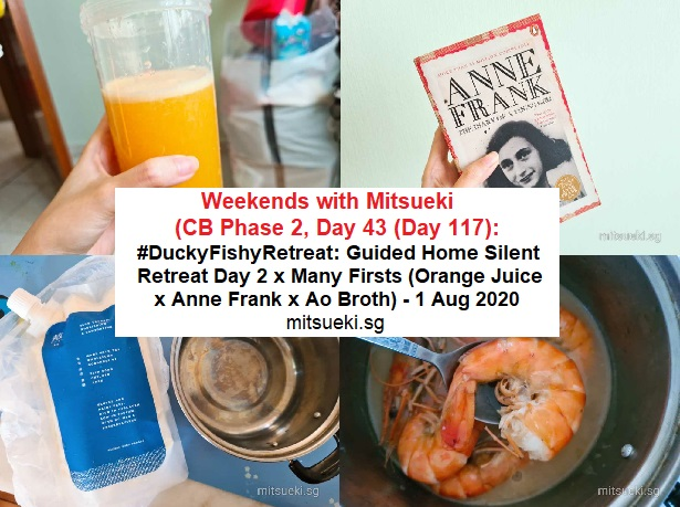 weekends with mitsueki home retreat day 2