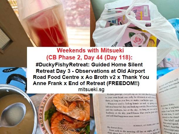 weekends with mitsueki home retreat day 3