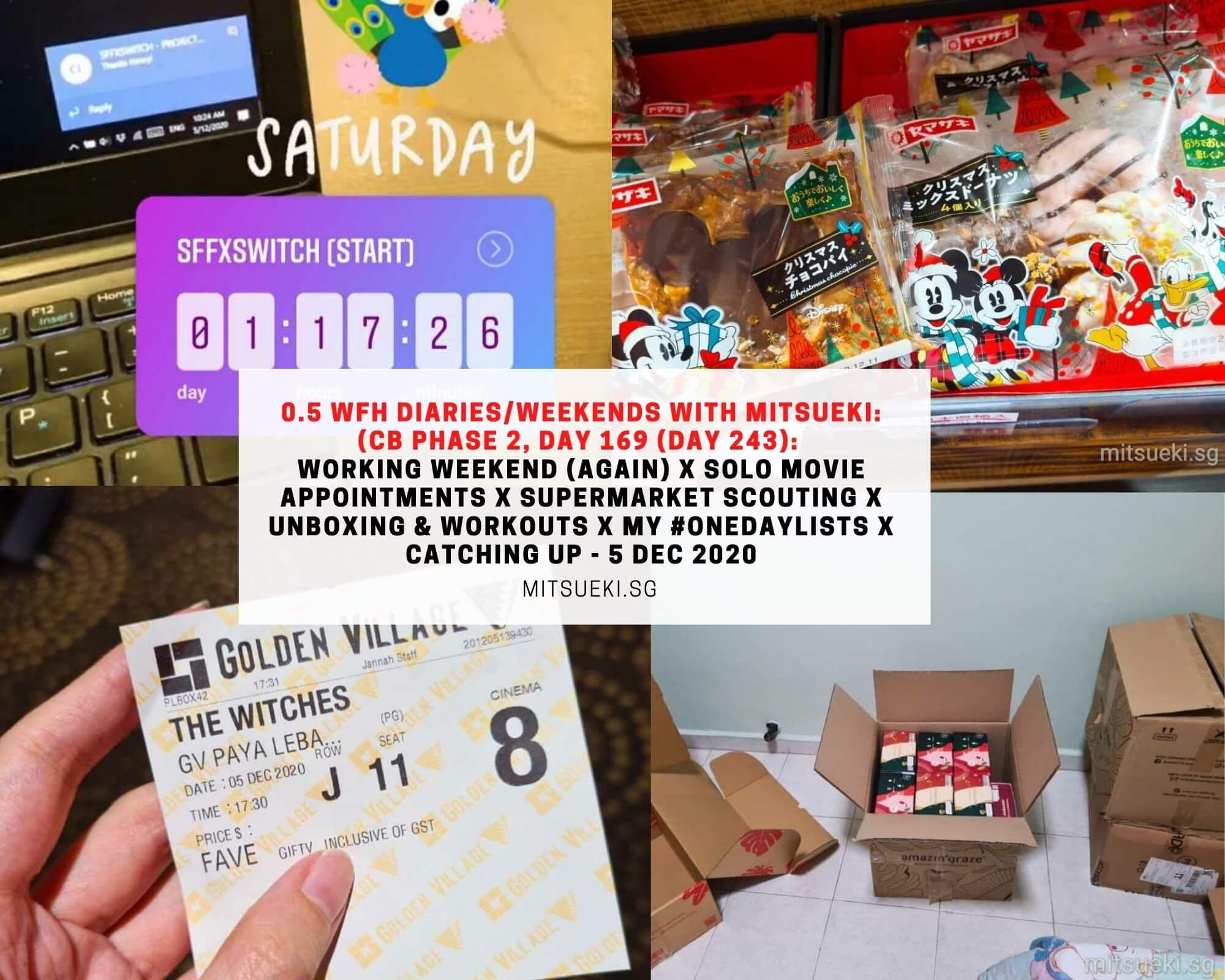wfh diaries weekends with mitsueki