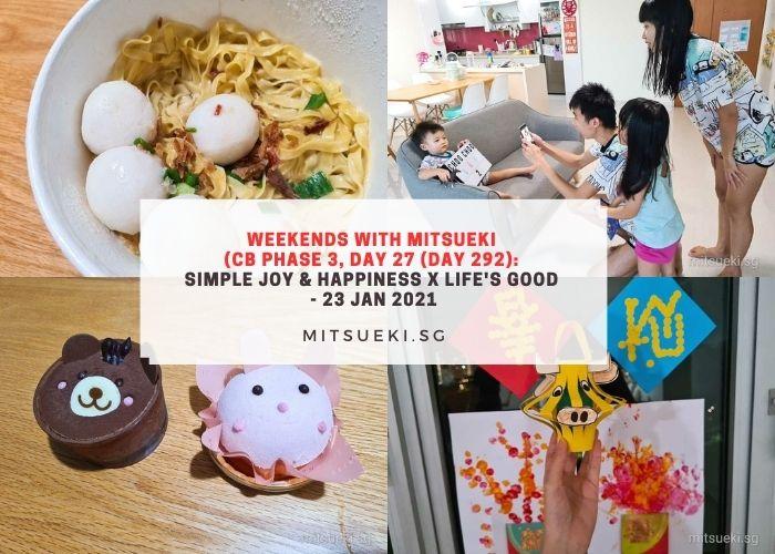 weekends with mitsueki simple joy life is good