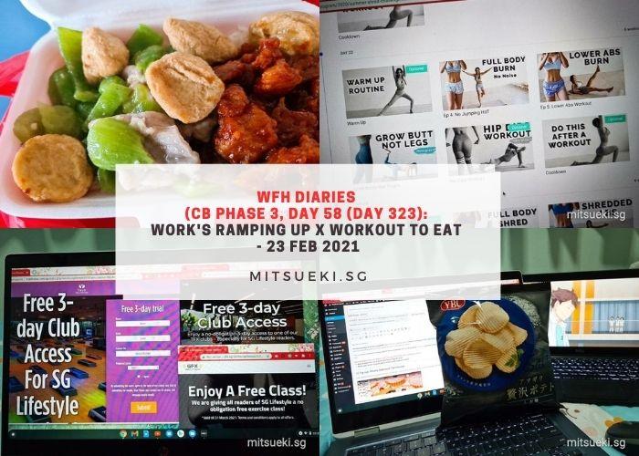 wfh diaries workout to eat