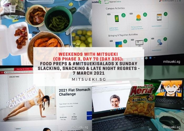 weekends with mitsueki #mitsuekisalads preps
