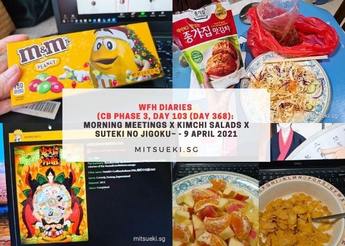 wfh diaries focus groups kimchi salads