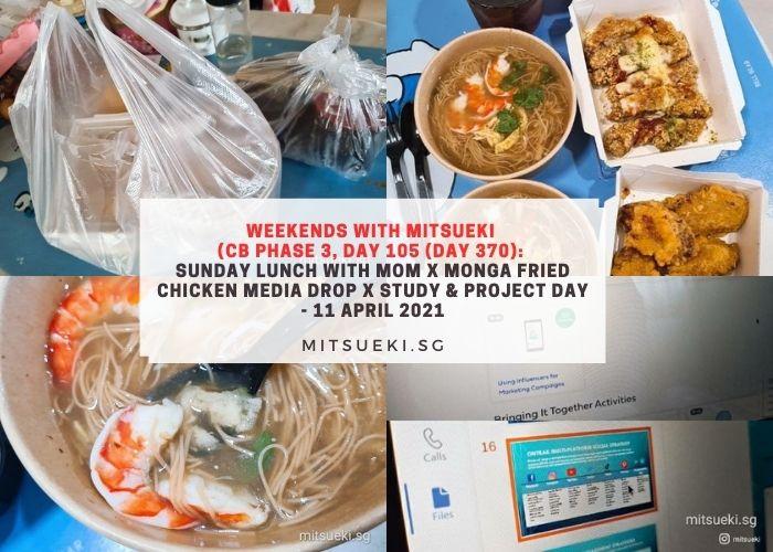 weekends with mitsueki monga fried chicken