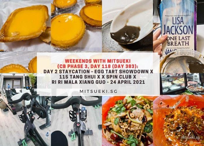 weekends with mitsueki egg tart showdown