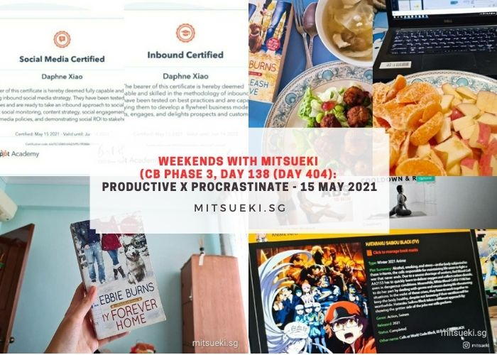 weekends with mitsueki productive procastination