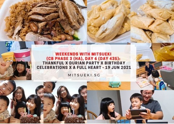weekends with mitsueki durian party kderellas full heart
