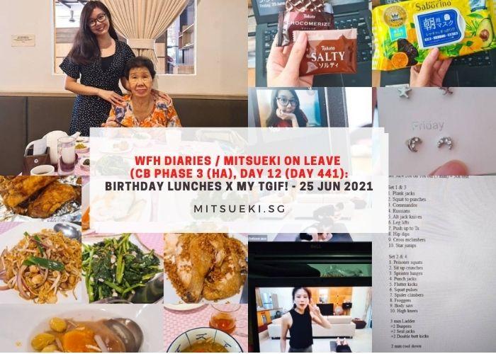 wfh diaries mitsueki on leave birthday lunches