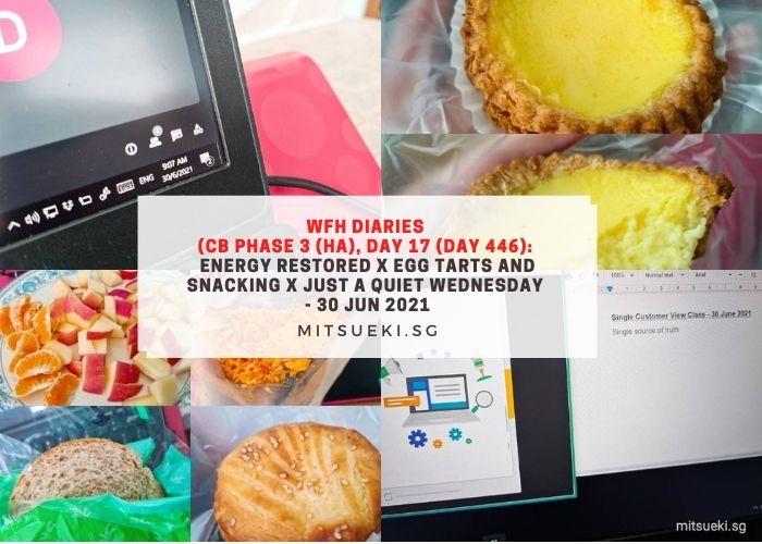 wfh diaries honolulu egg tarts