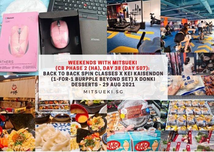 weekends with mitsueki spin class donki suntec