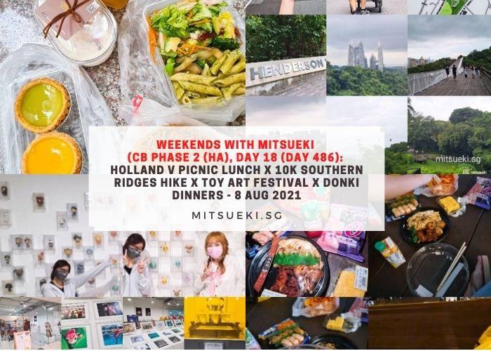 weekends with mitsueki sumo salad southern ridges donki