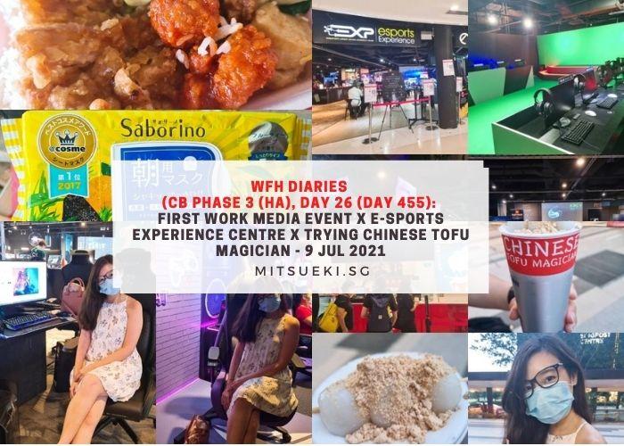wfh diaries esports experience centre