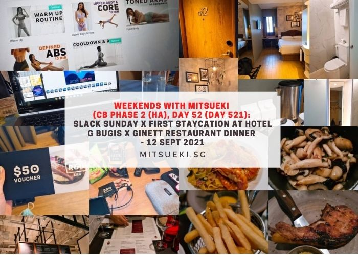 weekends with mitsueki hotel g staycation