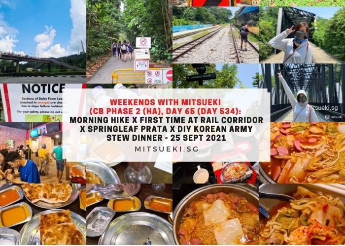 weekends with mitsueki rail corridor diy korean army stew